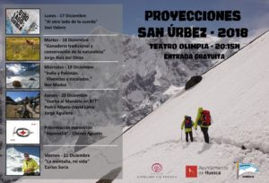 CICLO DE PROYECCIONES SAN ÚRBEZ 2018 · PEÑA GUARA @ TEATRO OLIMPIA