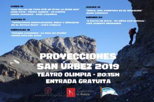 PROYECCIONES SAN ÚRBEZ 2019. PEÑA GUARA @ TEATRO OLIMPIA