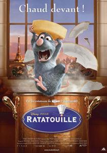 cartel de la pelicula ratatouille