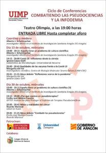 CICLO DE CONFERENCIAS: COMBATIENDO LAS PSEUDOCIENCIAS Y LA INFODEMIA @ TEATRO OLIMPIA