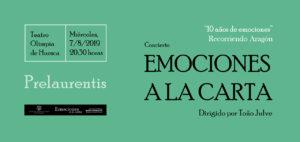 EMOCIONES A LA CARTA @ TEATRO OLIMPIA
