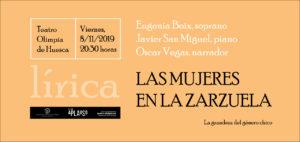 CLUB APLAUSO: LAS MUJERES EN LA ZARZUELA @ TEATRO OLIMPIA